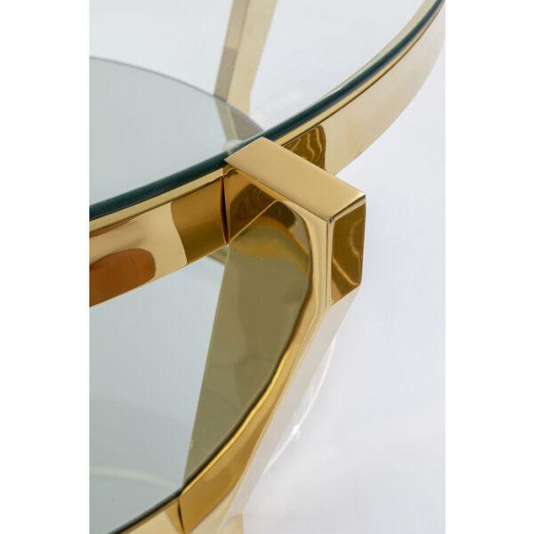 Kare Design Salontafel Monocolo Gold - Ø90 salontafel 85365 - Lowik Meubelen