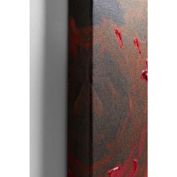 Kare Design Schilderij Touched Flower Explosion120x90 schilderij 52569 - Lowik Meubelen
