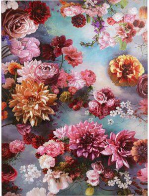 Kare Design Schilderij Touched Flower Sky - 120x90 schilderij 52570 - Lowik Meubelen
