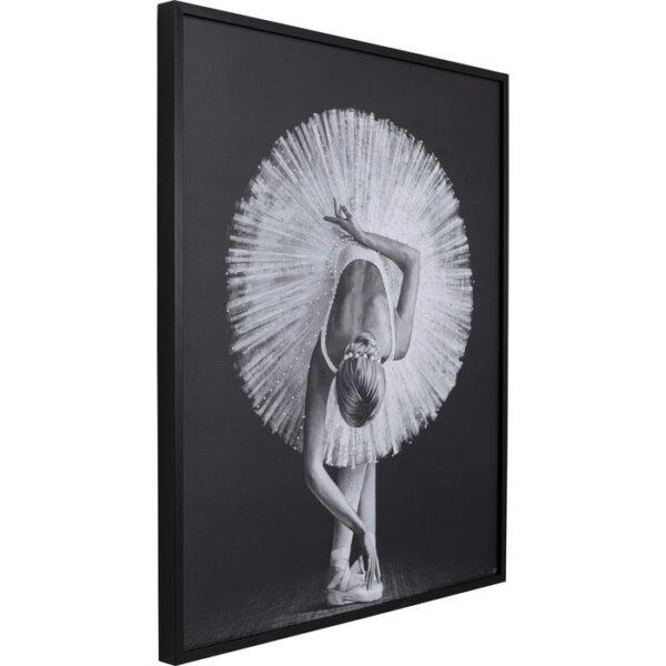 Kare Design Schilderij met lijst Passion of Ballet - 120x100 schilderij 52641 - Lowik Meubelen