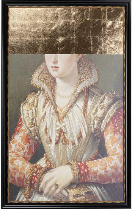 Kare Design Schilderij olieverf Hidden Eyes - 100x160 schilderij 52635 - Lowik Meubelen