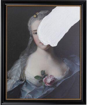 Kare Design Schilderij olieverf Otilia - 100x80 schilderij 52638 - Lowik Meubelen