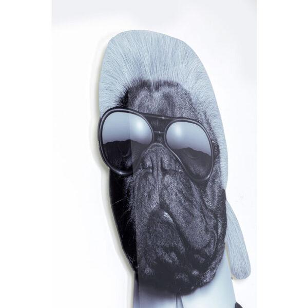 Kare Design Wanddecoratie Acryl Art Designer Dog - 120x80 wanddecoratie 52690 - Lowik Meubelen