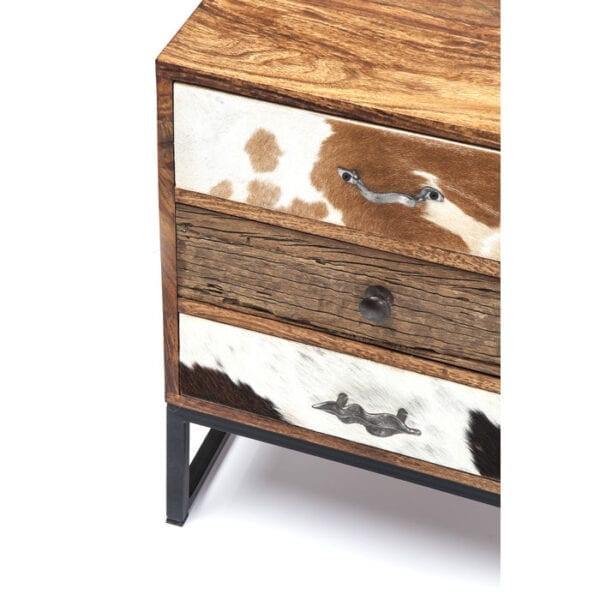 Kare Design Tv-dressoir Rodeo - 1 Door - 3 Drw tv-dressoir 79151 - Lowik Meubelen