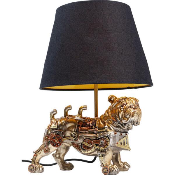 Kare Design Tafellamp Steampunk Pug tafellamp 52696 - Lowik Meubelen