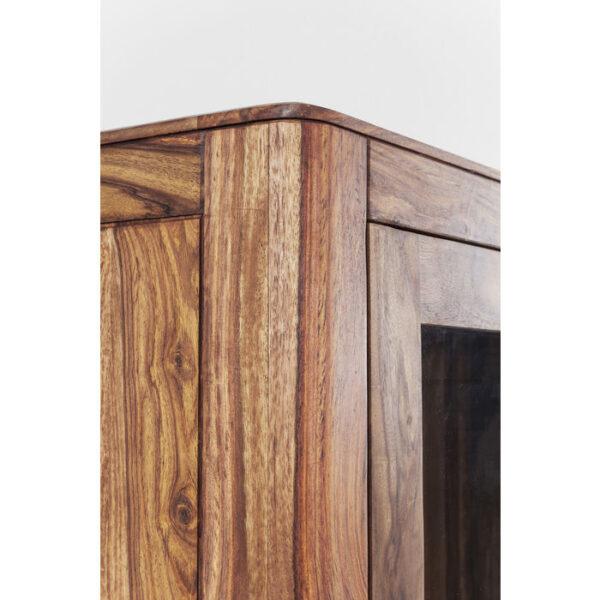 Kare Design Vitrinekast Brooklyn Nature - 2 Doors vitrinekast 81439 - Lowik Meubelen