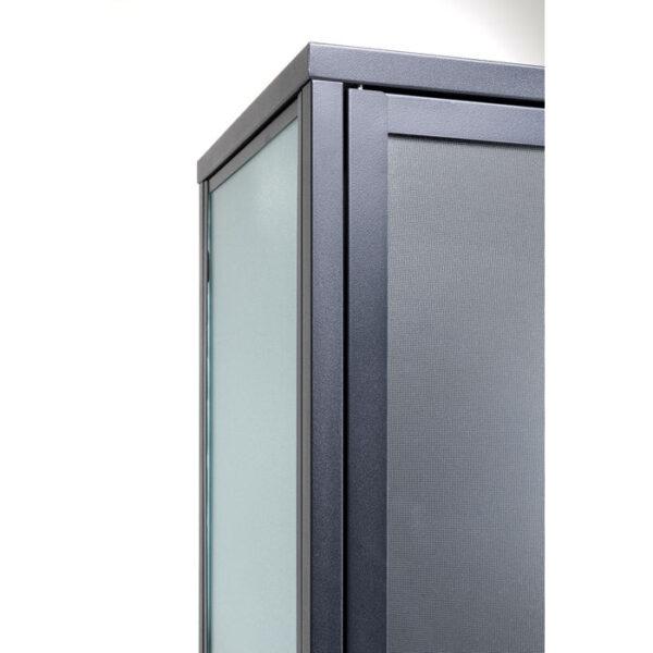 Kare Design Vitrinekast Downtown Big - 180x80 vitrinekast 85351 - Lowik Meubelen