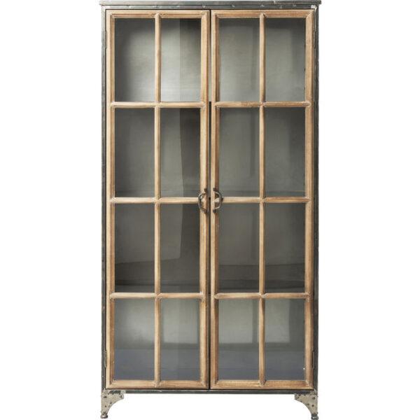 Kare Design Vitrinekast Kontor - 97cm vitrinekast 81047 - Lowik Meubelen