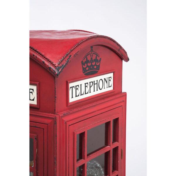 Kare Design Vitrinekast London Telephone vitrinekast 76383 - Lowik Meubelen