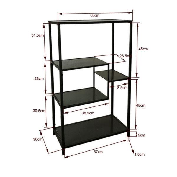 Kare Design Wandkast Loft Black - 100x60 wandkast 85488 - Lowik Meubelen