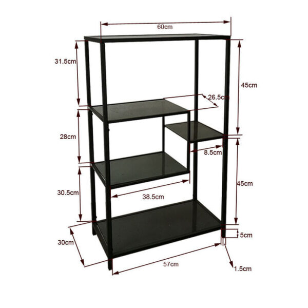 Kare Design Wandkast Loft Gold - 100x60 wandkast 85487 - Lowik Meubelen