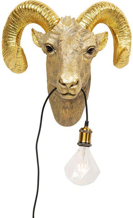 Kare Design Wandlamp Goat Head wandlamp 52709 - Lowik Meubelen