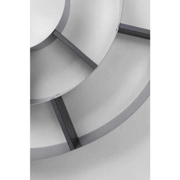 Kare Design Wandplank Snail silver-grey wandplank 70755 - Lowik Meubelen