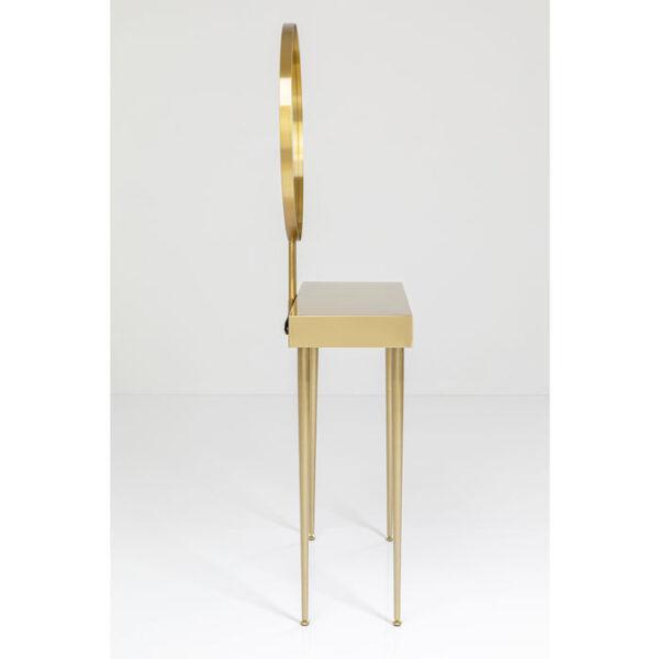 Kare Design Wandtafel mit Spiegel Curve Art - 153x70 wandtafel 84839 - Lowik Meubelen