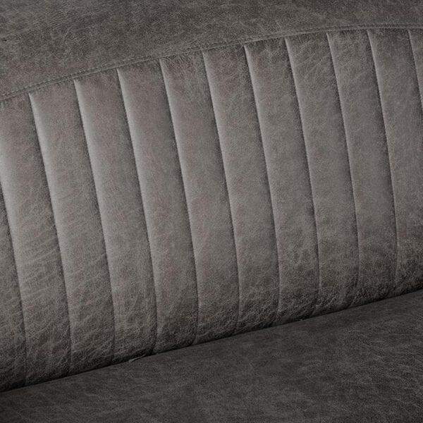 Bank Trento - Antraciet - Microfiber - 3-Zits uit de Trento collectie van Label51 - Löwik Meubelen