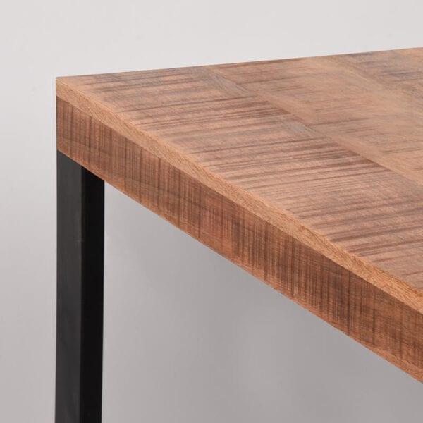 Eetkamertafel Glasgow - Rough - Mangohout - 160x90 cm uit de Glasgow collectie van Label51 - Löwik Meubelen