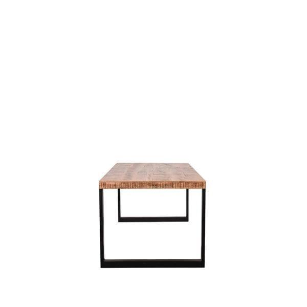 Eetkamertafel Glasgow - Rough - Mangohout - 220x95 cm uit de Glasgow collectie van Label51 - Löwik Meubelen