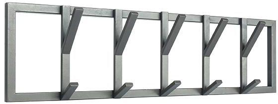 Kapstok Frame - Burned Steel - Metaal - L uit de Frame collectie van Label51 - Löwik Meubelen