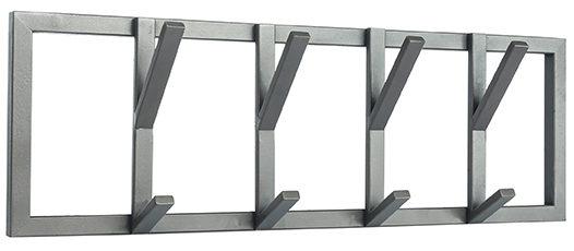 Kapstok Frame - Burned Steel - Metaal - M uit de Frame collectie van Label51 - Löwik Meubelen