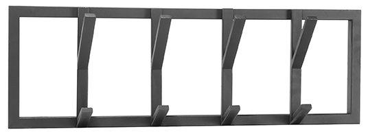 Kapstok Frame - Zwart - Metaal - M uit de Frame collectie van Label51 - Löwik Meubelen