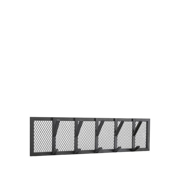 Kapstok Gruff - Zwart - Metaal - L uit de Gruff collectie van Label51 - Löwik Meubelen