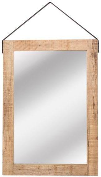 Spiegel - Naturel - Mangohout - 60x85 cm uit de Spiegel collectie van Label51 - Löwik Meubelen