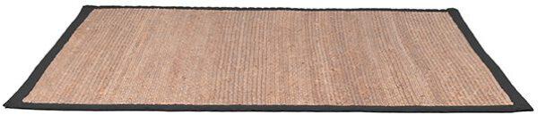 Vloerkleed Jute - Zwart - Jute - 230x160 Cm uit de Jute collectie van Label51 - Löwik Meubelen