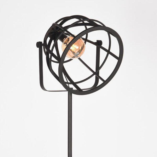 Vloerlamp Fuse - Zwart - Metaal uit de Fuse collectie van Label51 - Löwik Meubelen