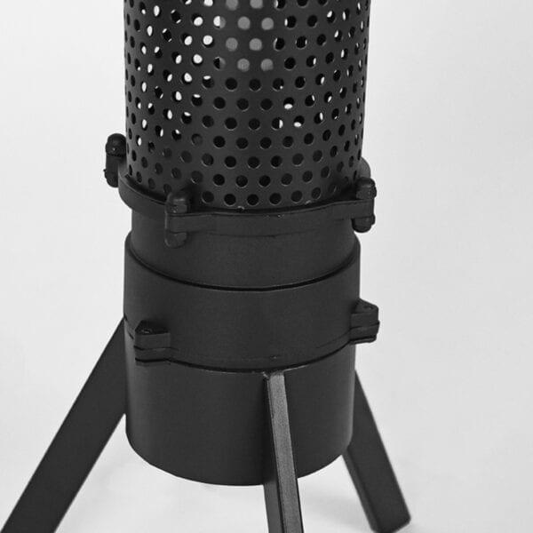 Vloerlamp Tube - Zwart - Metaal uit de Tube collectie van Label51 - Löwik Meubelen