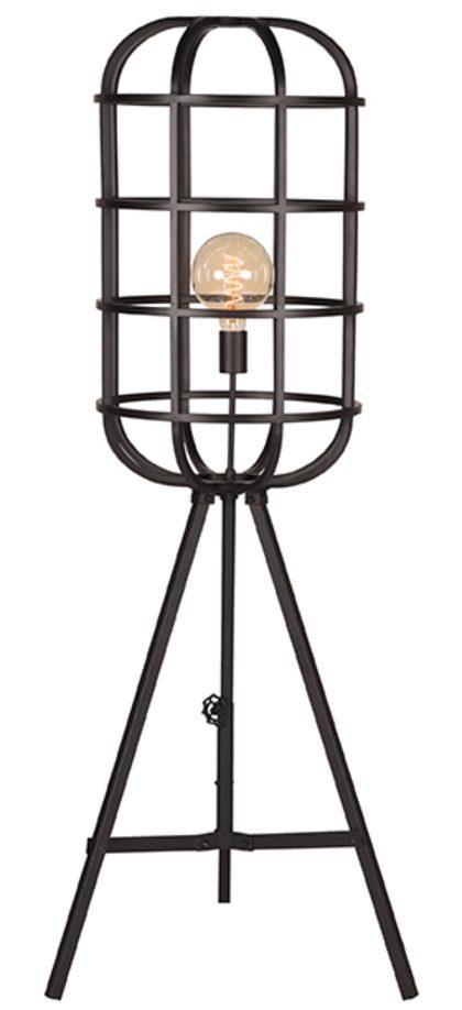 Vloerlamp Twine - Zwart - Metaal uit de Twine collectie van Label51 - Löwik Meubelen