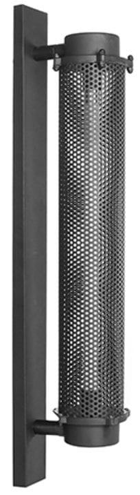 Wandlamp Tube - Zwart - Metaal uit de Tube collectie van Label51 - Löwik Meubelen