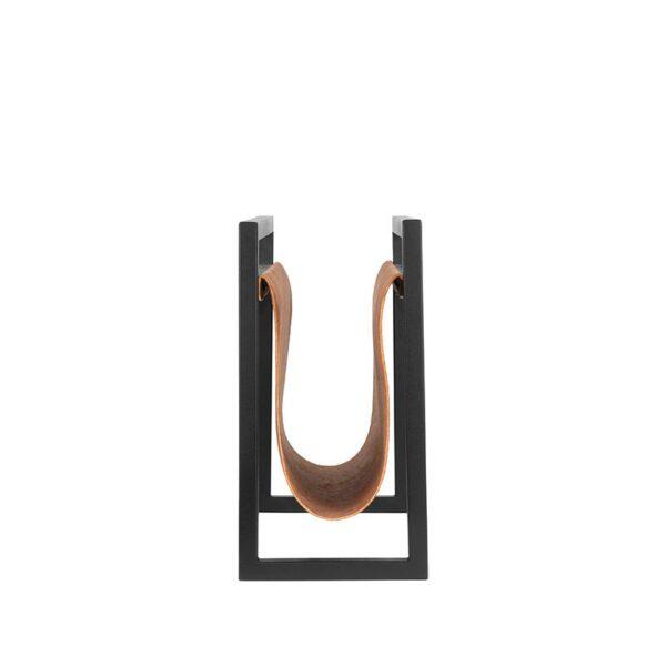 Wanddecoratie Magazinehouder - Cognac - Leder uit de Magazinehouder collectie van Label51 - Löwik Meubelen