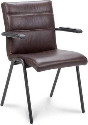 Armstoel Stefani XL, vintage en industrieel design