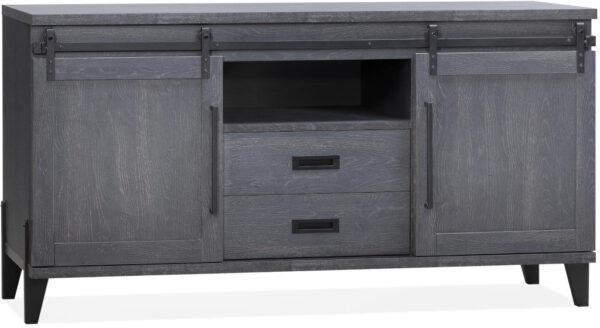 Space dressoir in Lamulux Old Piano - Maxfurn