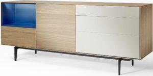Bloom dressoir type BL 5 - poot B85 - modern dressoir van Mintjens