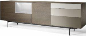 Bloom dressoir type BL 6 - poot B85 - modern dressoir van Mintjens