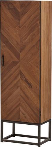 Venice kast - 1 deurs uit de Nijwie collectie - Teakhout