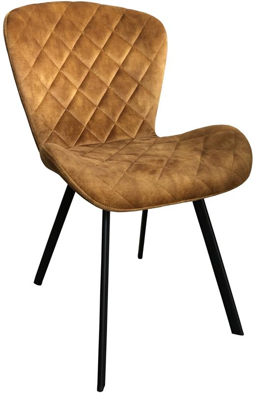 Dex stoel le Chair - Velvet gold