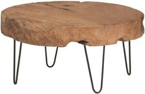 Natural Life salontafel - rond Ø80 uit de MySons collectie - Acaciahout
