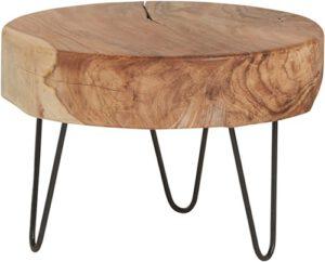Natural Life salontafel - rond laag Ø50 uit de MySons collectie - Acaciahout
