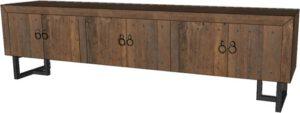 Pure tv-dressoir - 220 - 3x 2 deuren uit de MySons collectie - Metaal