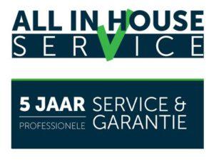All in House service - 5 jaar garantie - meubels