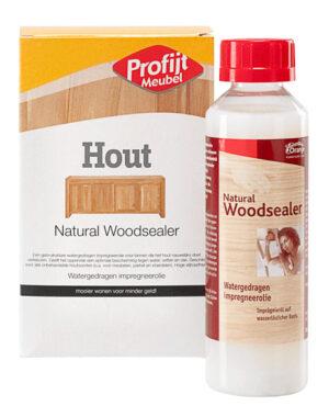 Naturel woodsealer 250ml.