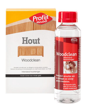 Woodclean hout reiniging 250 ml.