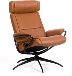 Paris fauteuil met lage rugleuning inclusief hoofdsteun - Stressless