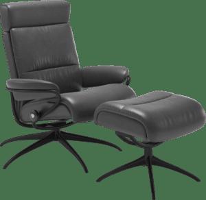 Tokyo fauteuil van Stressless met Star base en lage rugleuning met hoofdsteun