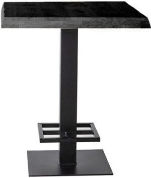 Eleonora bartafel - 80x80 zwart uit de Eleonora collectie