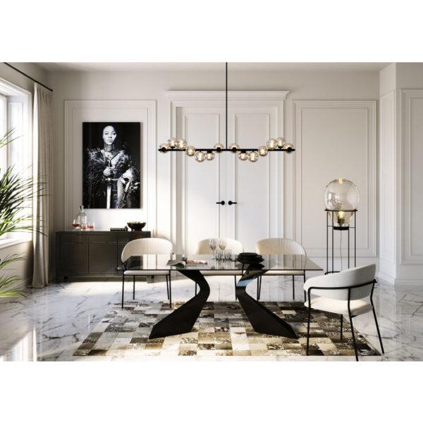 Kare Design Armstoel Belle Grey - (2/Set) armstoel 85307 - Lowik Meubelen