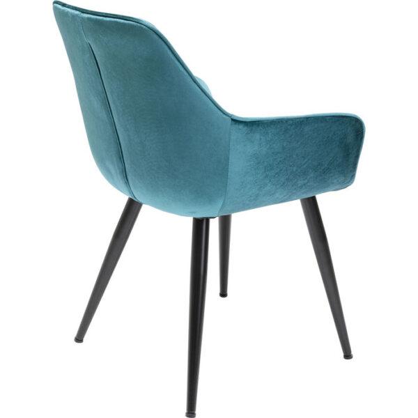 Kare Design Armstoel Harry Blue armstoel 85536 - Lowik Meubelen
