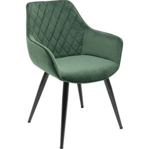 Kare Design Armstoel Harry Green armstoel 85534 - Lowik Meubelen